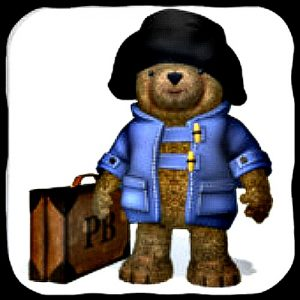 Paddington Bear iPad game