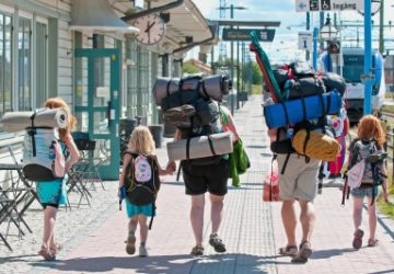 Backpacking Family by Poulsen Photo on FreeDigitalPhotos.net