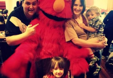 Chez Mummy meets Elmo