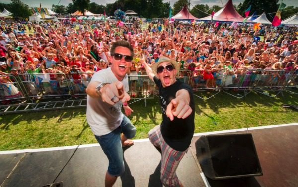 Dick and Dom at Lollibop