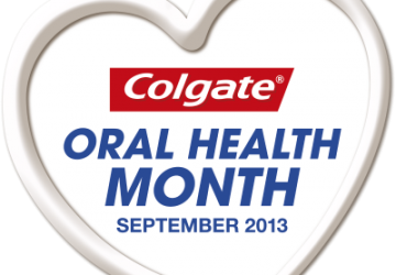 Colgate Oral Health Month logo (September 2013)