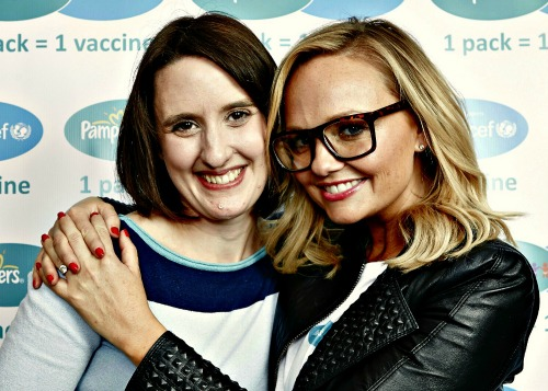 Chez Mummy and Emma Bunton