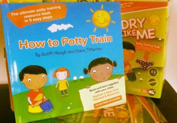 How to Potty Train and Dry Like Me Pads