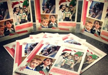 PaperShaker personalised Christmas cards