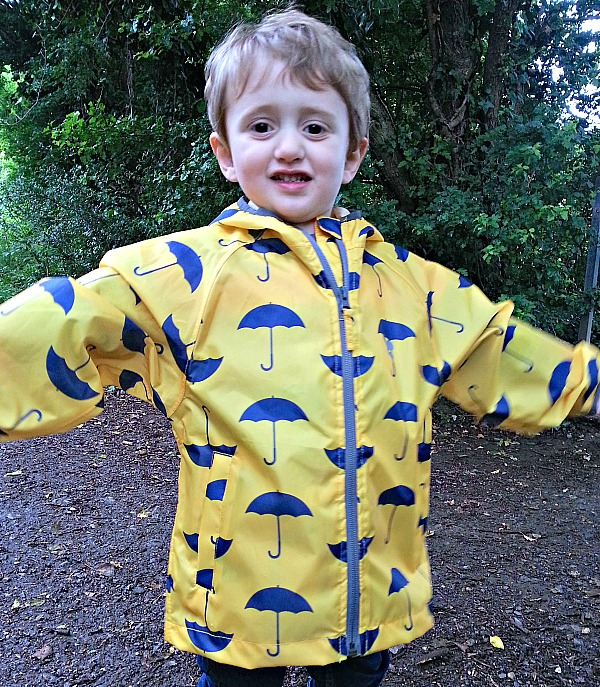 Muddy Puddles, raincoat, review