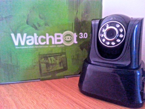 WatchBot security camera, CCTV