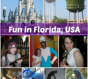 Florida, fun in Florida, first foreign family holiday
