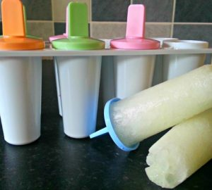 Ice lolly disaster, homemade ice lollies