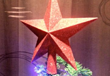 Christmas tree, Christmas star