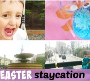 Easter staycation, school holiday, Easter holiday