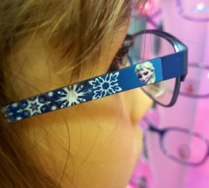 Frozen themed glasses for kids, Specsavers