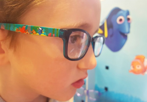 Finding Dory, Specsavers, children's glasses