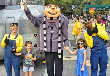 Gru, Universal Orlando Resort, favourite Florida holiday photos