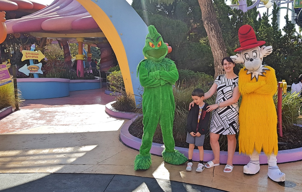Universal Orlando Resort, Islands of Adventure, Dr Seuss, the Grinch