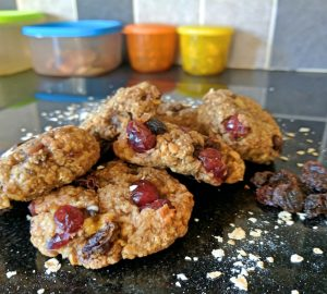 Healthy oat cookies