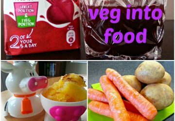sneak fruit and vegetables into food