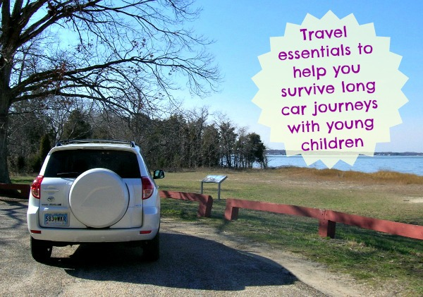 Travel essentials for long car journeys with children, driving,