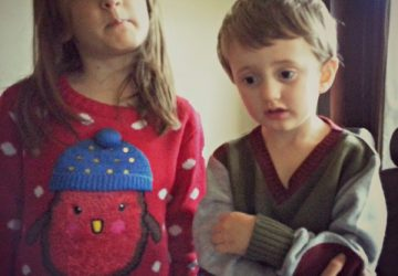 Christmas jumpers, robin